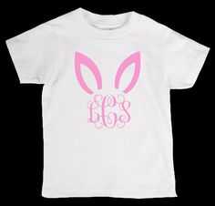 Easter Bunny Personliazed Monogram Name by designstudiosigns, $24.00