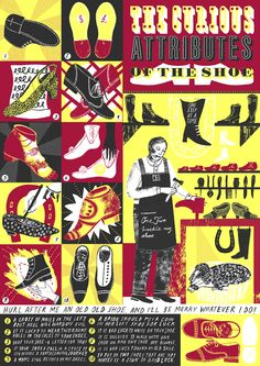 Alice Pattullo for the V&A: The Curious Attributes of the Shoe