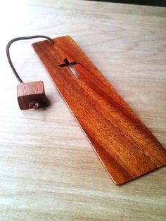 Wooden Bookmark by AtkinsFamilyCrafts on Etsy, $10.00