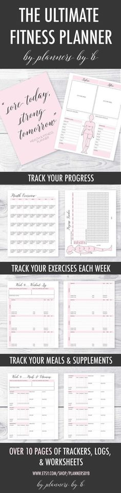 health journal This is such a cute and easy way to keep track of your fitness! This printable fitness planner comes with meal planners, workout logs, progress trackers amp; Fitness Humor, You Fitness, Easy Fitness, Health Fitness, Fitness Diet, Shape Fitness, Fitness Shirts, Fitness Design, Fitness Women