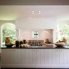 A kitchen of Belgian design