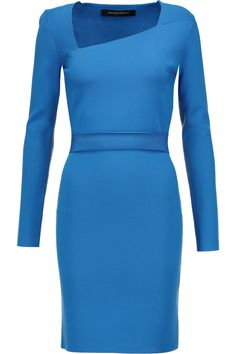 ROLAND MOURET Barracuda Ribbed Jersey Dress. #rolandmouret #cloth #dress