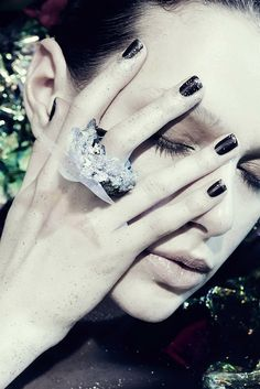 London Fashion Photography by Nina Kadatko: jewelry editorial