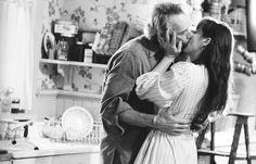 """Clint Eastwood y Meryl Streep en """"Los Puentes de Madison"""", 1995"""