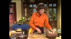 Great Julia Child makes an omelet, ,