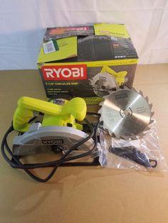 "Ryobi CSB125 7-1/4"" circular saw 03232017.124 #Ryobi"