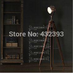 Rh Vintage Loft Machinery Industry Tripod Floor Lamp Living Room Stand Lamp  Bar Decoration Floor Lamps Fixture Floor Lighting InFloor Lamps From Liu2026