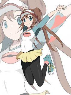Mei (Pokémon) - Black and White 2 - Image - Zerochan Anime Image Board Pokemon Rosa, Pokemon Mew, Pokemon Waifu, Pikachu, Sexy Pokemon, Black Pokemon, Pokemon Comics, Pokemon Funny, Pokemon Fan Art
