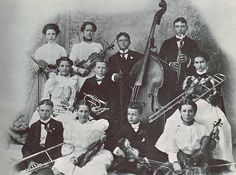 Mariner's Orchestra In Tucson, Arizona Territory In 1898 by The Nite Tripper, via Flickr