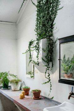"welovegreenmonsters: ""Nice bathroom. Butterland. Photo by Luisa Brimble. """