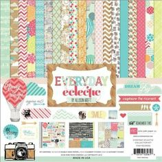 Amazon.com: Echo Park Paper Everyday Eclectic Collection Scrapbooking Kit: Arts, Crafts & Sewing