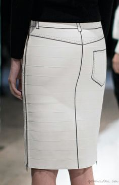 How to conquer your fear of the bandage skirt, Band of Outsiders bandage skirt  / Garance Doré