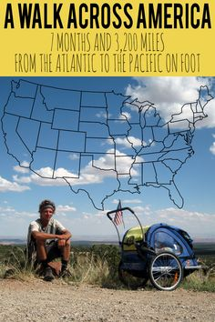 Nate Damm set out from the Atlantic Ocean in Delaware and began walking west. More than 3,200 miles and seven months later, Nate walked across America and dipped his toes in the Pacific Ocean in California. http://www.desktodirtbag.com/walk-across-america-interview-with-nate-damm/
