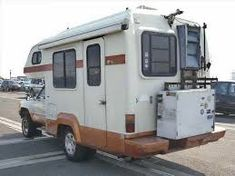 c48d7d0516 Image result for two tone toyota camper brown white