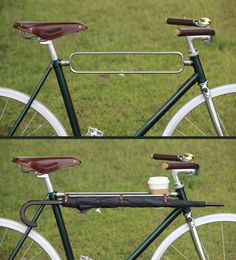 my umbrella and my coffe  with me everywhere, even on a ride !  cadre-fixie-EchoCycle-tube-supérieur