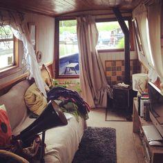 My narrowboat living room! :)