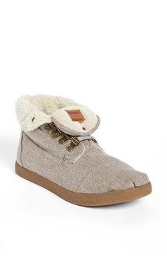 TOMS 'High Botas' Fleece Boot (Women) | Nordstrom
