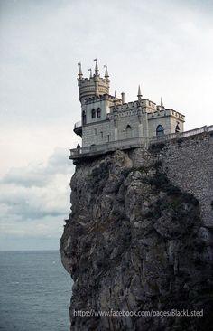 Swallow's Nest, near Yalta on the Crimean peninsula in southern Ukraine.