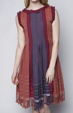 Sewing simple dresses fabrics Ideas for 2019 Simple Dress Casual, Elegant Outfit, Simple Dresses, Trendy Dresses, Cute Dresses, Casual Dresses, Batik Fashion, Ethnic Fashion, Hijab Fashion