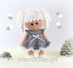 Mesmerizing Crochet an Amigurumi Rabbit Ideas. Lovely Crochet an Amigurumi Rabbit Ideas. Doll Amigurumi Free Pattern, Crochet Amigurumi, Crochet Doll Pattern, Amigurumi Doll, Crochet Patterns, Crochet Doll Clothes, Knitted Dolls, Crochet Dolls, Cute Crochet