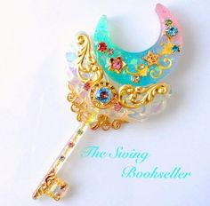But a sun flr latest story Kawaii Accessories, Kawaii Jewelry, Cute Jewelry, Key Jewelry, Jewellery, Resin Jewelry, Handmade Jewelry, Diy And Crafts, Arts And Crafts