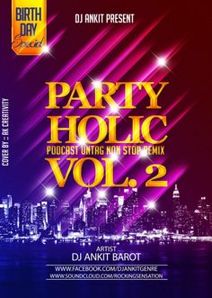 Partyholic Podcast Vol2 - Dj Ankit - http://djsmuzik.com/partyholic-podcast-vol2-dj-ankit/
