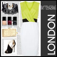 """I'm in London"" by nikita-17 on Polyvore Chanel, Polyvore, Image, Fashion, London, Moda, Fashion Styles, Fashion Illustrations"
