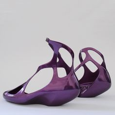 Here are new photos of the shoes Zaha Hadid Architects designed for Brazilian brand Melissa.