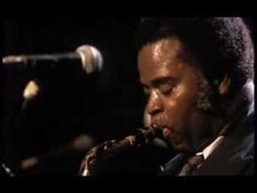 """Maceo Parker plays Marvin Gaye """"Let's Get It On"""""""