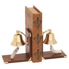 Bell bookends