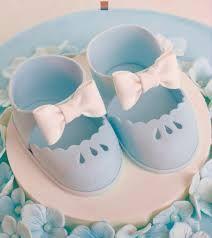 fondant baby shoes - Google Search