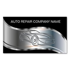 Auto Collision And Body Shop Business Card | Business cards and ...