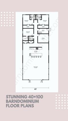 Barndominium's floor plan is one of the most important things one will come up with in the design process. Without having the right floor plan, none will be able to get everything they want from their barndo and this can defeat the whole purpose of the project. In this attached article, we have put together some amazing examples of a 40×100 barndominium floor plan to help get you inspired. You might even find the perfect floor plan here and from there on out, your work is done! 3 Bedroom Floor Plan, Barndominium Floor Plans, Breezeway, Closet Bedroom, Open Concept, Design Process, Flooring, How To Plan, Projects