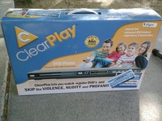 Black Friday 2014 ClearPlay DVD Player with Free Trial Membership from ClearPlay Cyber Monday. Black Friday specials on the season most-wanted Christmas gifts. Dvd Players, Electronic Deals, Black Friday Specials, God's Heart, Toy Sale, Toddler Toys, Cyber Monday, Movies To Watch, Christmas Gifts