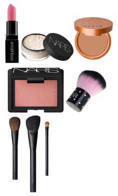 """""""Natural"""" by freakingoverfashion ❤ liked on Polyvore featuring beauty, Smashbox, NARS Cosmetics and Stila"""