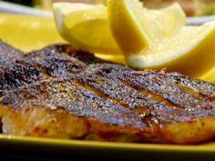 Smoky-Spicy Bass recipe from Rachael Ray via Food Network