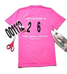 YSC Breast Cancer Survivor Event Tee with Age                                                                                                                                                                                 More