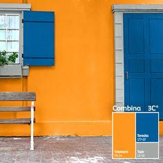 Deja que los #contrastes iluminen tus espacios. #BienHecho