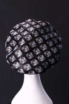 NEW Damask Microfibre Waterproof Shower Cap Ultra Protective Bath Hat Hair  Accessory Shower Cap e443df762a8f