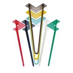 Our hairpin legs come in clear, black, white, red, yellow, blue, green, orange…
