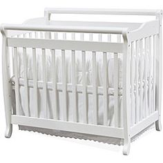 @Overstock - Versatility unites with grace for this convertible Davinci mini crib. Lead free and JPMA certified, this crib will offer comforting and safe slumber to your baby with the ability to convert to a twin bed with multi-level mattress support.http://www.overstock.com/Home-Garden/DaVinci-Emily-Mini-Crib/4333392/product.html?CID=214117 $149.00