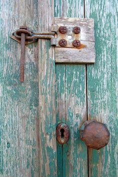 "my-world-of-colour: "" Door detail, St. Margaret's Hope, Orkney, Scotland"