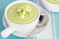Low Cal Recipe: Weight Loss Creamy Cauliflower and Broccoli Soup-can adjust ingredients accordingly