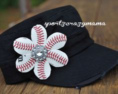 Baseball Mom Rhinestone Cadet Hat