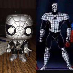 Custom armored Spider-Man pop