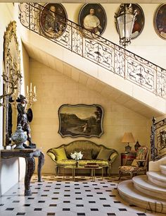 John and Terri Havens restoration of a Louis XV manor built for J. Robert Neal, who made his fortune in the Maxwell House coffee.