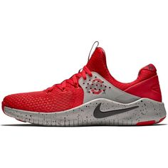 best loved e566c db53a Ohio State Buckeyes Nike Free TR V8 Shoes – Scarlet Gray
