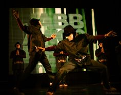 Jabbawockeez, they ARE artists and I want to see them live.