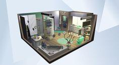Confira este cômodo na Galeria do The Sims 4! -