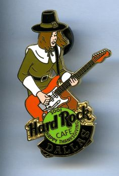 Dallas - Hard Rock Cafe Guitar Pin